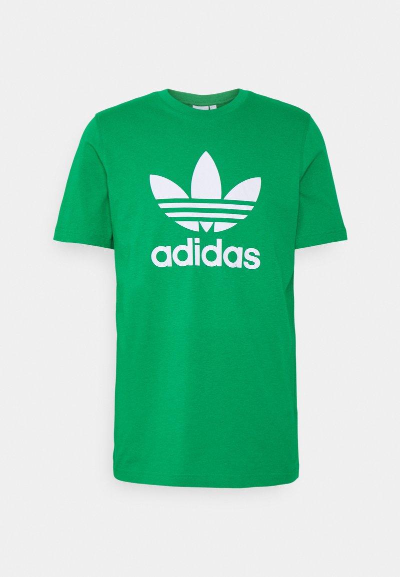 adidas Originals - TREFOIL T-SHIRT ORIGINALS ADICOLOR - T-shirt med print - green/white