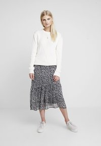 Part Two - LONDEASE - Pleated skirt - dark blue - 1