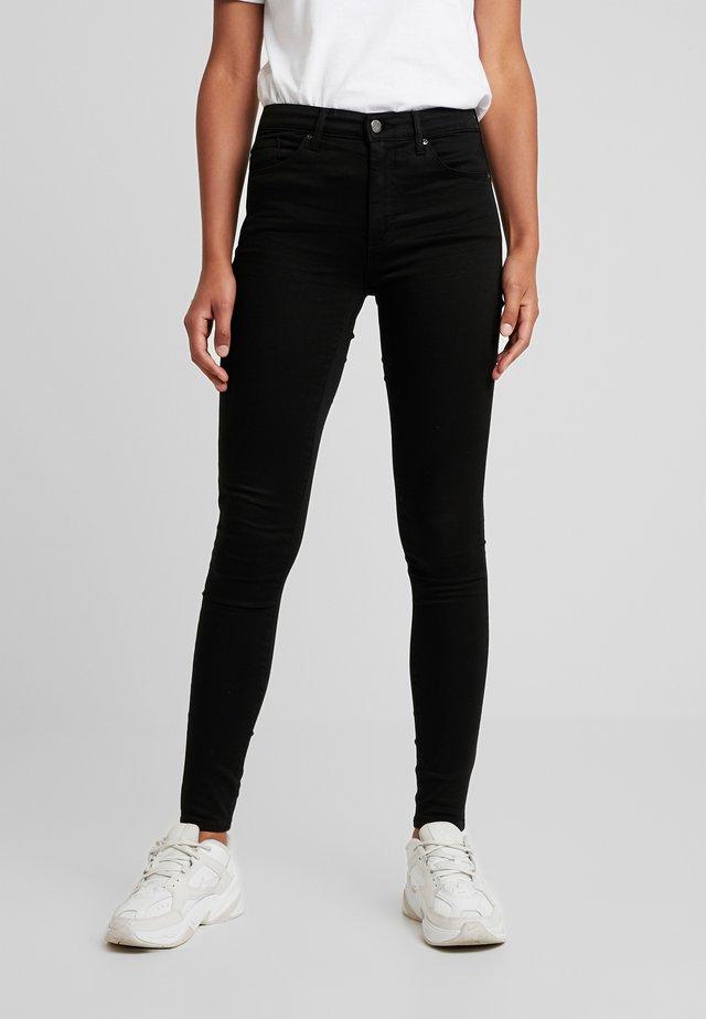 LEIGH - Skinny džíny - black