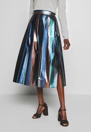 PANE - A-line skirt - navy blue