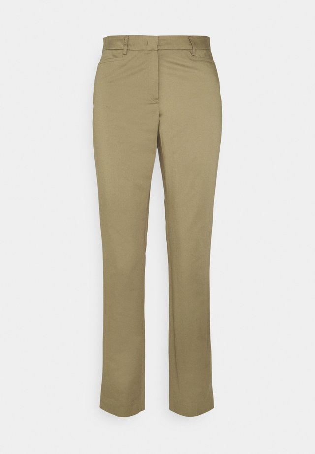 TROUSER - Trousers - muddy green