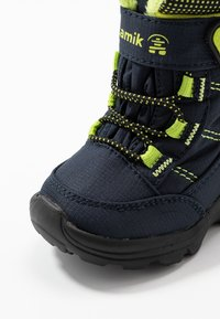Kamik - STANCE - Winter boots - navy/lime/marine/citron - 2