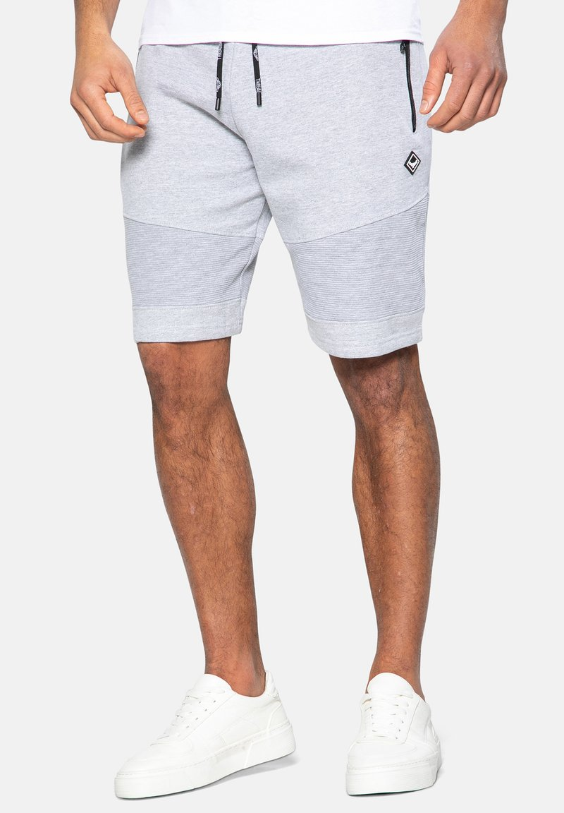 Threadbare - Shorts - grey marl