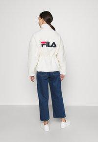 Fila - SARI SHERPA JACKET - Winter jacket - eggnog - 2