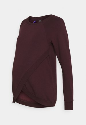 SYBIL - Sweatshirt - black cherry