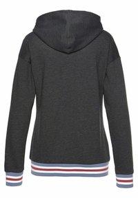 Bench - Zip-up sweatshirt - grau meliert - 1
