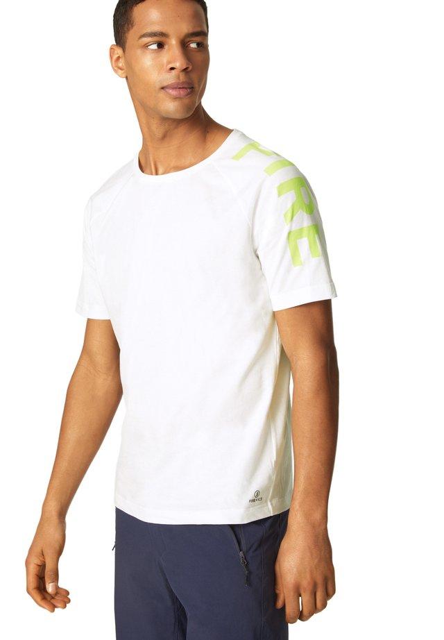 ROGER - T-shirt print - weiß