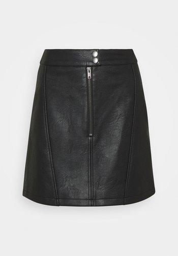 LAURA - Mini skirt - black