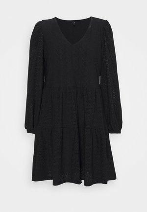 ONLFRIDA V NECK DRESS  - Sukienka z dżerseju - black
