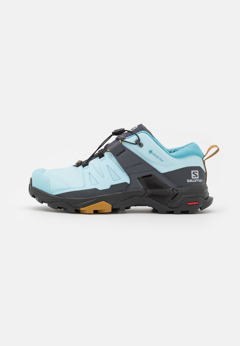 Salomon - X ULTRA 4 GTX - Hiking shoes - crystal blue/black/cumin