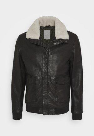 SVEN - Leather jacket - comet