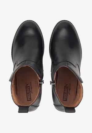 POMPEYA - High heeled ankle boots - schwarz