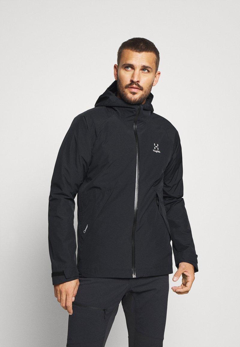 Haglöfs - SKUTA JACKET MEN - Hardshell jacket - true black