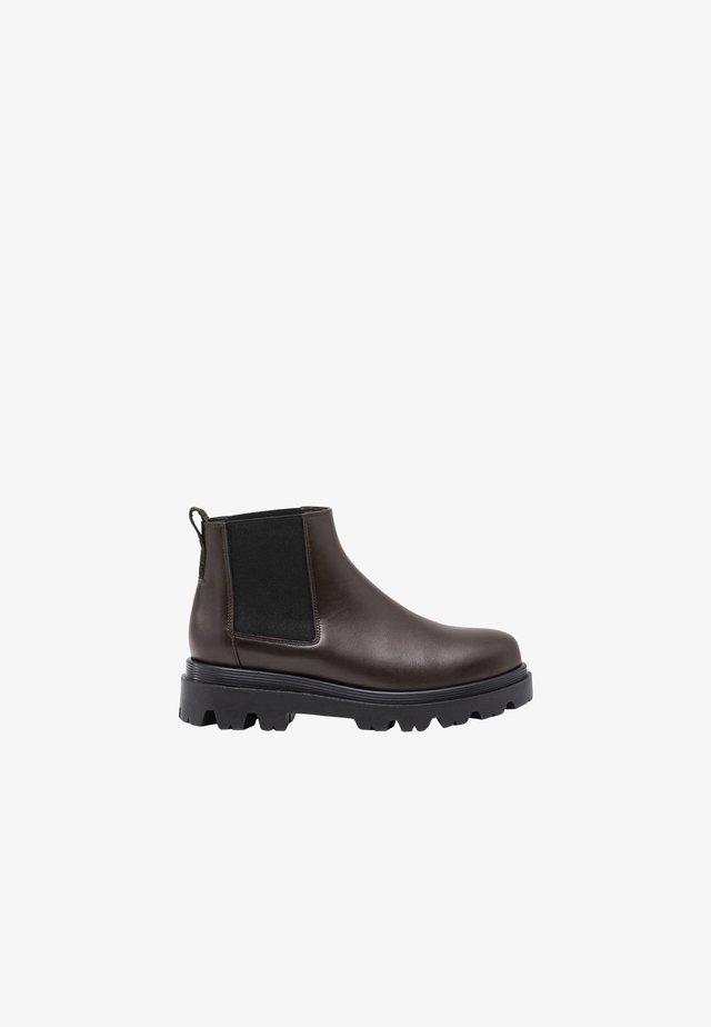 LOVA - Korte laarzen - dark brown