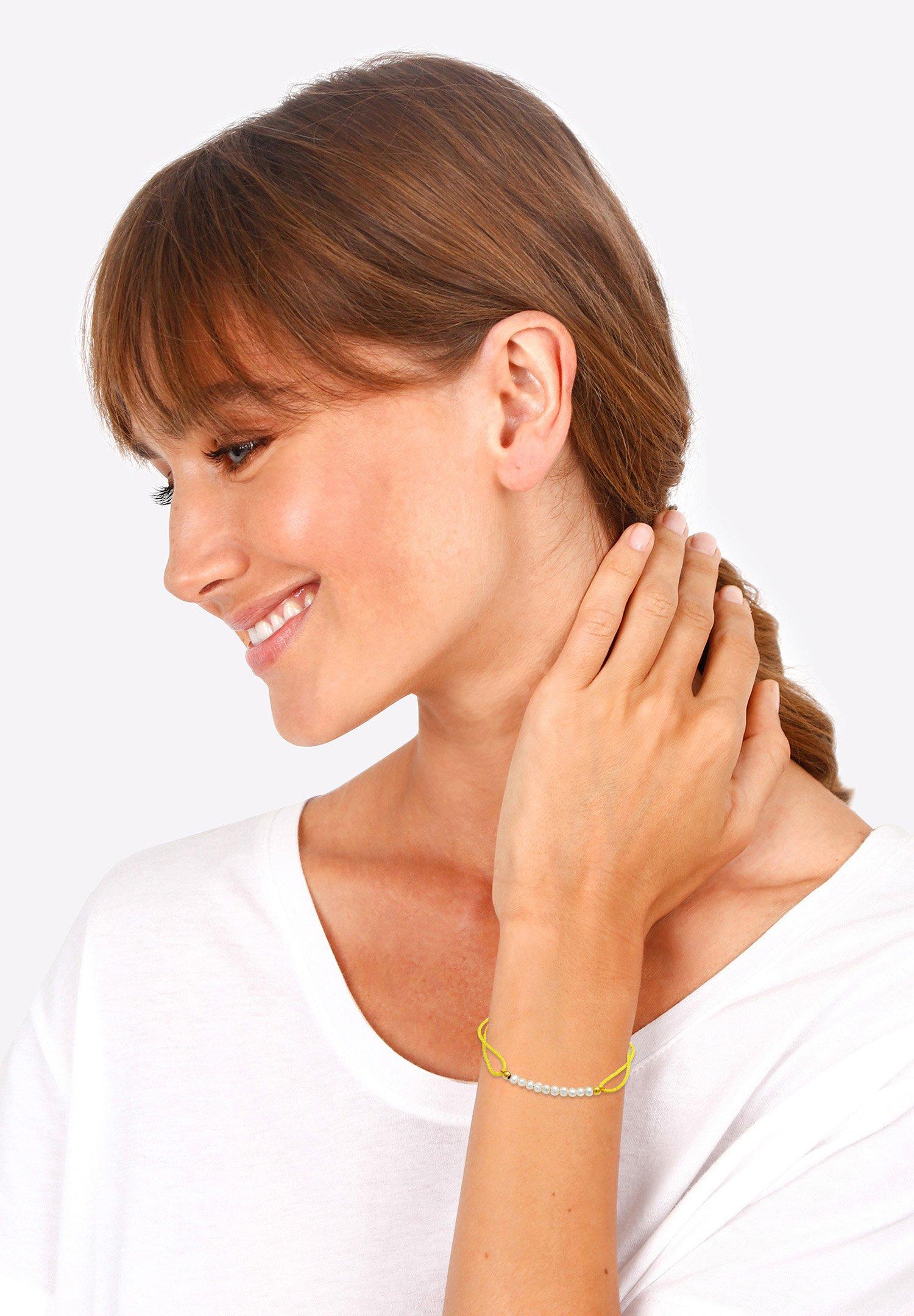 Femme PEARLS NYLON - Bracelet