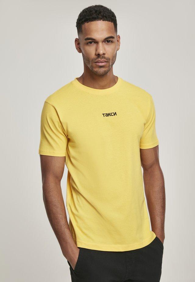 TAXI - T-shirts basic - yellow