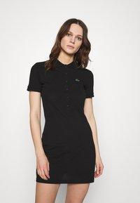 Lacoste LIVE - Shift dress - black - 0