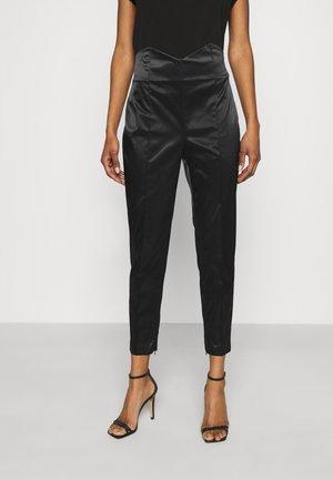 PANTALONE - Spodnie materiałowe - nero
