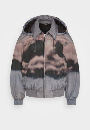 Light jacket - fantasy print grey