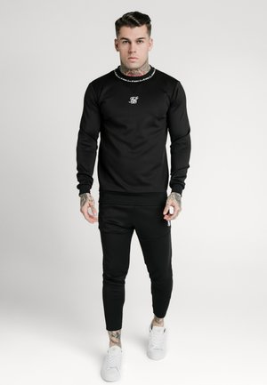 ILLUSION CREW - Topper langermet - black