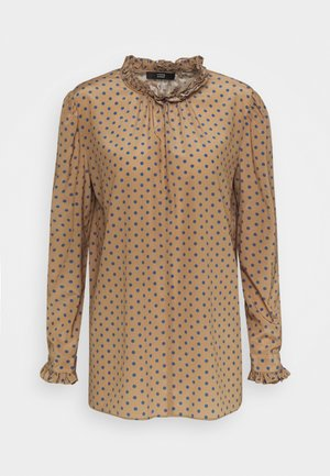 CELIA LUXURY BLOUSE - Blouse - brown