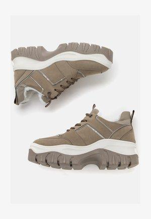 Sneakers basse - dark beige