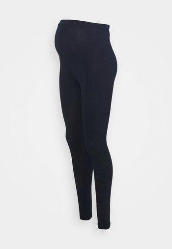 MLMIRA PINTUCK - Leggings - Trousers - navy blazer