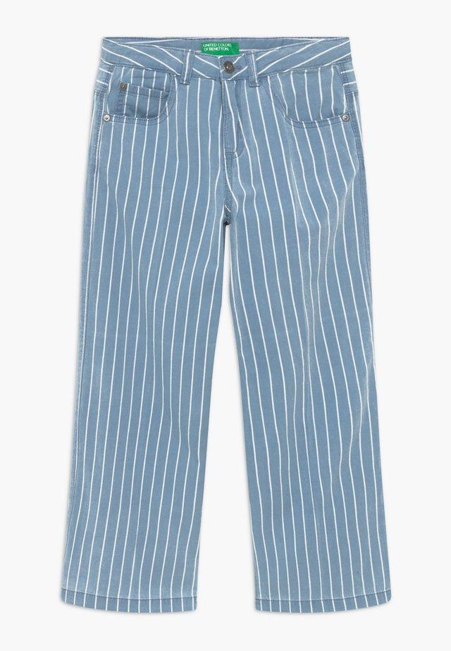 Straight leg -farkut - light-blue denim