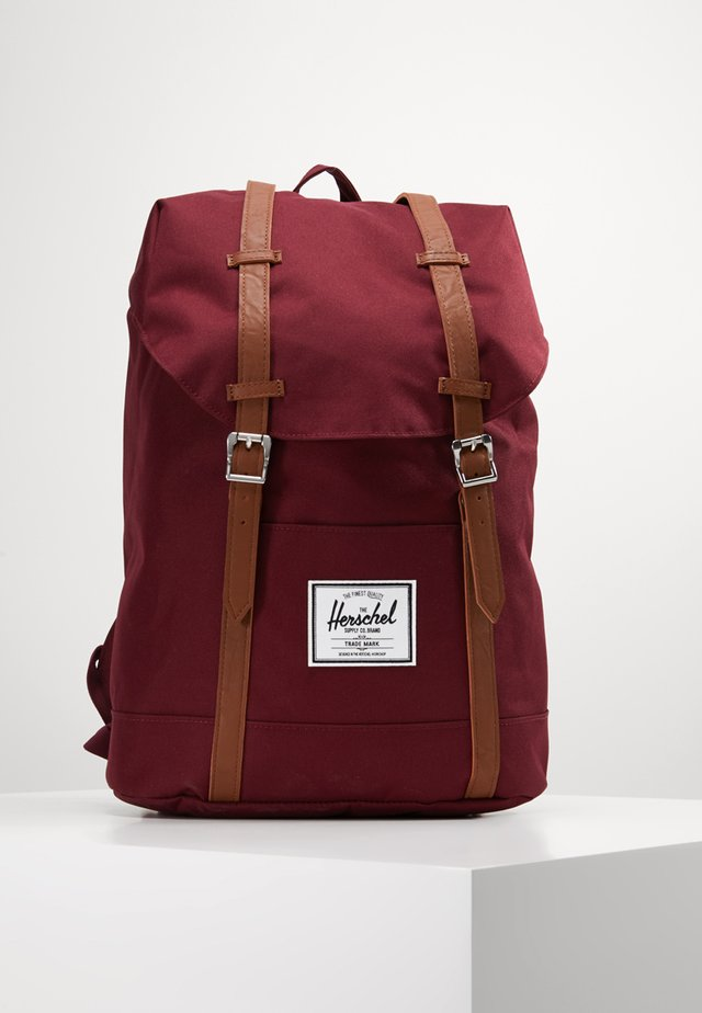 RETREAT  - Tagesrucksack - bordeaux/marron