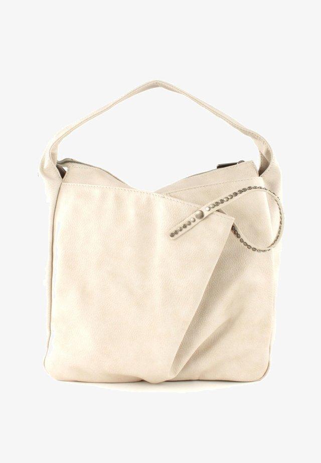 CARIBO NALA - Handtasche - light beige