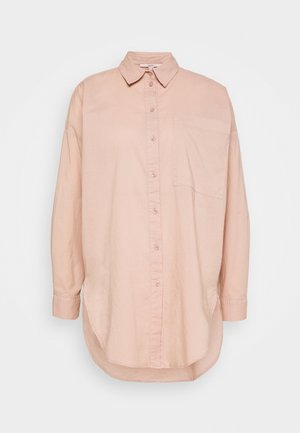 PLAIN - Button-down blouse - dark old pink
