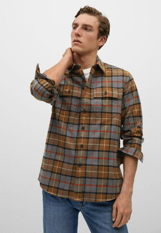 CALI - Skjorte - middenbruin
