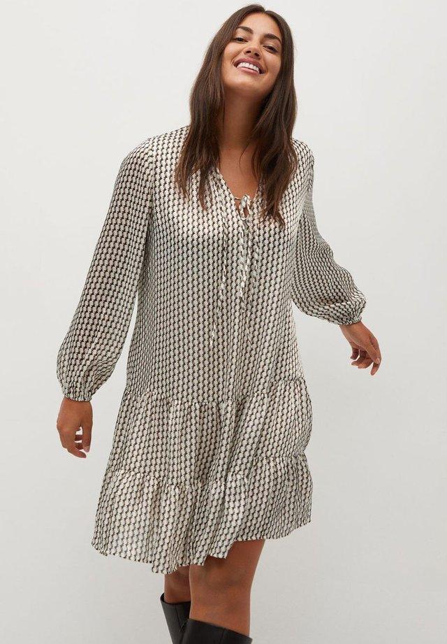 TANIA - Day dress - cremeweiß
