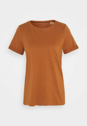 KURZARM - Basic T-shirt - brown