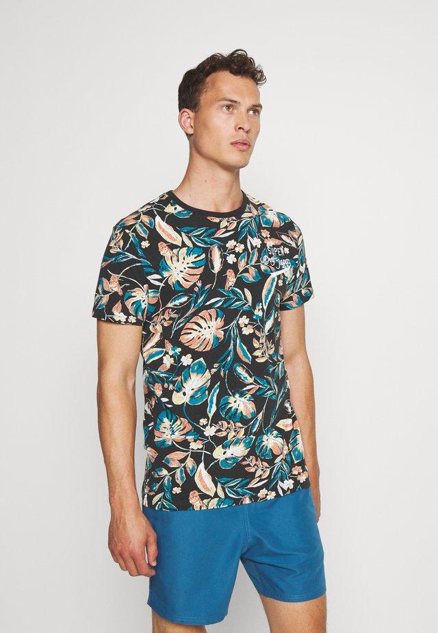 SUPPLY - T-shirt print - black