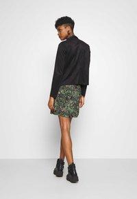 ONLY - ONLFLEUR JACKET - Faux leather jacket - black - 2