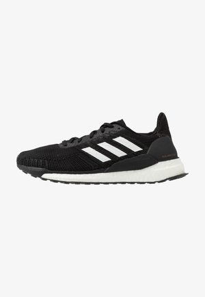SOLAR BOOST 19 - Neutrale løbesko - core black/footwear white/signal pink