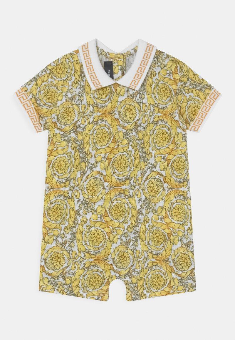 Versace - BAROQUE GRECA UNISEX - Jumpsuit - white/gold