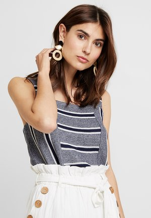 LIKE STRIPE TANK - Top - classic navy