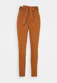 Pieces Petite - PCBEATE TIE PANTS - Trousers - mocha bisque - 0