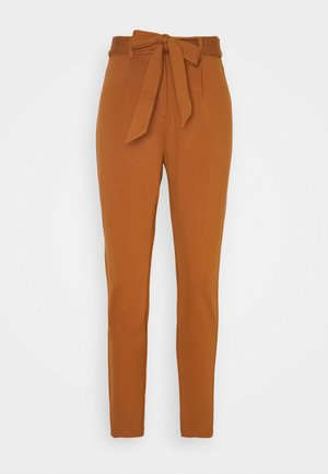 PCBEATE TIE PANTS - Trousers - mocha bisque