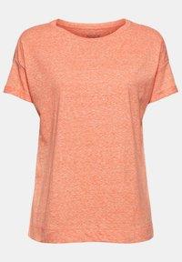 Esprit - PER COO CLOUDY - Basic T-shirt - orange red - 8