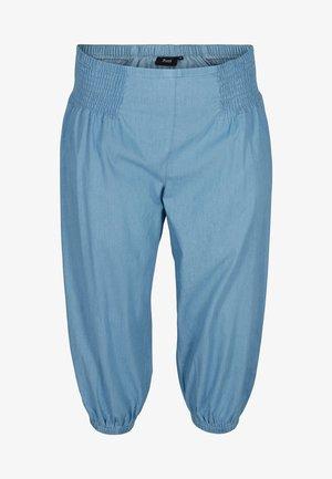 MIT SMOCK - Trousers - light blue denim