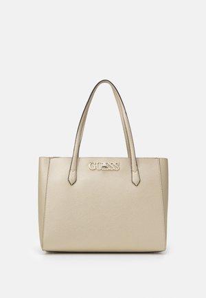 UPTOWN CHIC ELITE TOTE - Handbag - gold