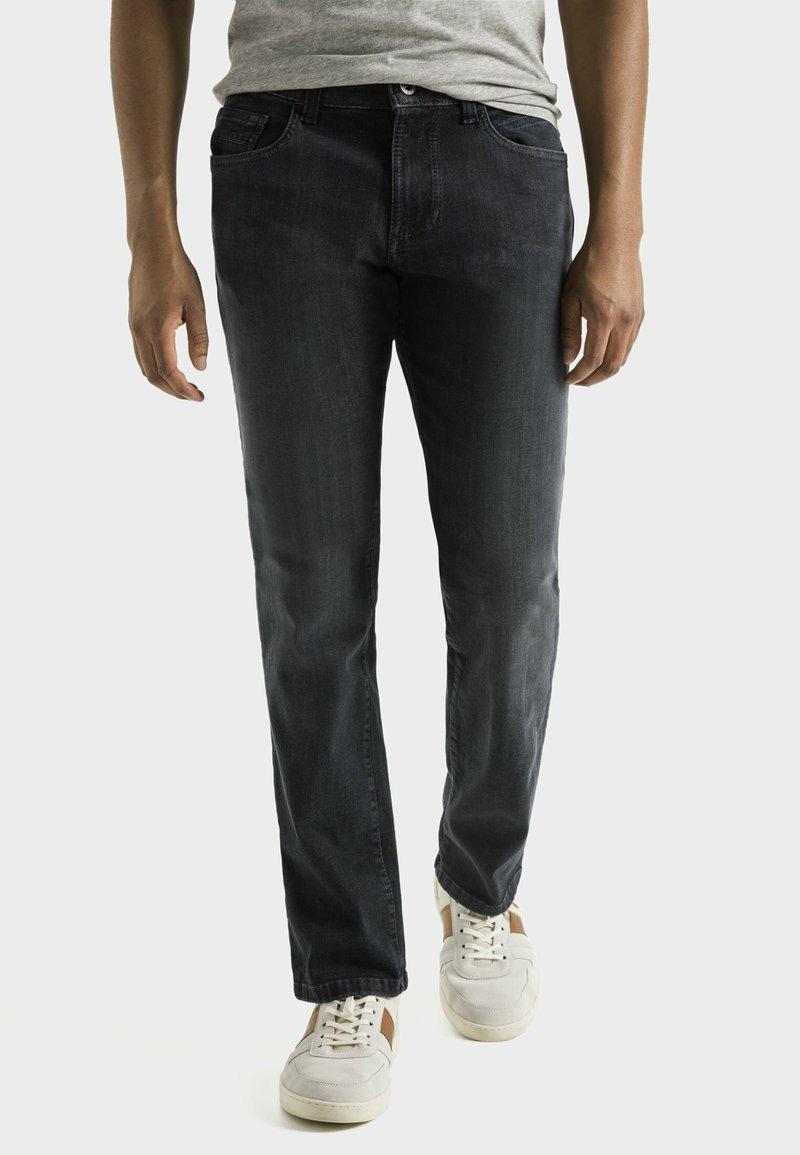 camel active - Straight leg jeans - black ink