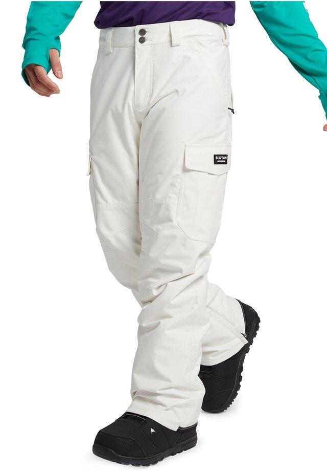 Trousers - stout white