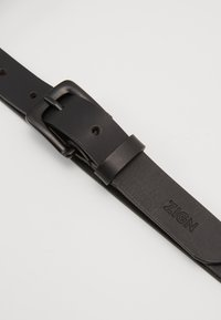 Zign - UNISEX LEATHER - Pásek - black - 2