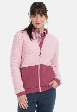Fleece jacket - 3075 - pink