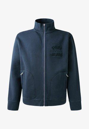 JAZZ - Sweater met rits - dulwich schwarz