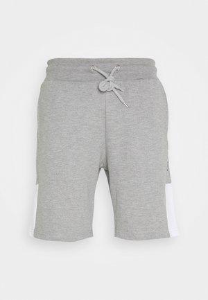 SCRIPT SIDE PANELLED  - Teplákové kalhoty - grey